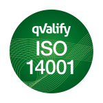 Reglyr är certifierade enligt qValify ISO 14001